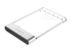 باکس هارد اینترنال به اکسترنال اوریکو ORICO 2.5 inch Transparent USB3.0 Hard Drive Enclosure 2129U3