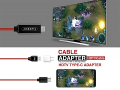کابل تایپ سی به اچ دی ام آی ارلدام Earldom Type-C to HDTV Cable ET-W12 2M