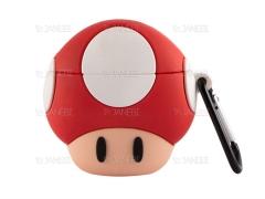 کاور محافظ سیلیکونی ایرپاد طرح قارچ Mushrooms Silicone Case Apple Airpods