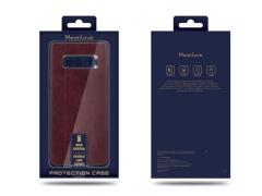 قاب طرح چرم سامسونگ MeanLove Double Line Case Samsung S10
