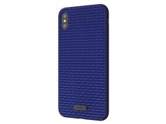 قاب طرح چرم کجسا آیفون Kajsa Geniune Leather Grass Pattern Case iPhone XS Max