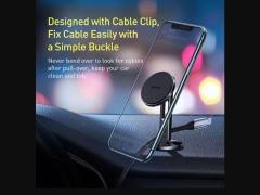 پایه نگهدارنده  بیسوس Baseus Hollow Cable Magnetic Holder