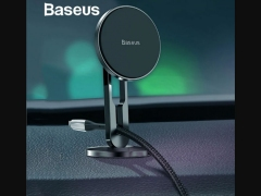 پایه نگهدارنده گوشی بیسوس Baseus Hollow Cable Magnetic Holder