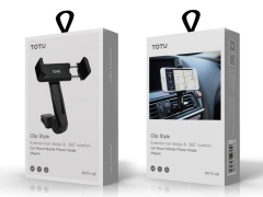 پایه نگهدارنده توتو Totu DCTV-02 Aligator Clip Style Car Holder