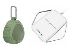 پک اسپیکر و شارژر بی سیم نیلکین Nillkin Magic Cube & PlayVox Speaker