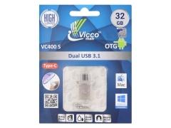 فلش مموری تایپ سی ویکومن Viccoman VC400 Flash Drive 32GB