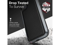 قاب ایکس دوریا طرح فیبرکربن آیفون X-Doria Defense Lux Case iPhone 11