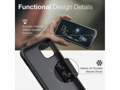 قاب ایکس دوریا طرح چرم آیفون X-Doria Defense Lux Case iPhone 11 Pro