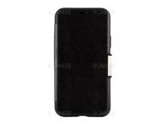 کیف محافظ چرم VPG Magnetic Leather Cover iPhone 11