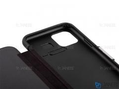 کیف محافظ آیفون VPG Magnetic Leather Cover iPhone 11