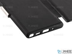 کیف محافظ چرم سامسونگ VPG Magnetic Leather Cover Samsung Note 10