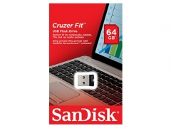 فلش مموری سندیسک Sandisk Cruzer Fit USB 2.0 Flash Memory 64GB