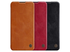 کیف چرمی نیلکین سامسونگ Nillkin Qin Leather Case Samsung Galaxy A11