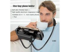 نگهدارنده گوشی و تبلت بیسوس Yesido Neck Mount Lazy Holder C80