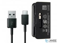 کابل شارژ سریع تایپ سی اصلی سامسونگ Samsung Type-C Cable 1.2m