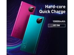 پاور بانک شارژ سریع بیسوس Baseus Adaman Metal Digital Display 10000mAh