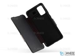 کیف محافظ چرم سامسونگ VPG Magnetic Leather Cover Samsung S20
