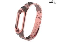 بند فلزی دستبند شیائومی Xiaomi Mi Band 3/4 Metal Strap