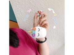کاور محافظ ایرپاد طرح اسب تک شاخ Unicorn Silicone Case Apple Airpods