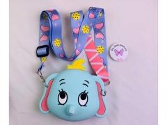 کیف سیلیکونی کوچک رودوشی طرح فیل Elephant Little Bag