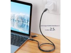 کابل سریع تایپ سی به لایتنینگ یوسامز USAMS U31 Type-C/USB to Lightning Cable 1.2m