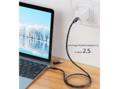 کابل سریع تایپ سی به لایتنینگ یوسامز USAMS U31 Type-C/Type-C to Lightning Cable 1.2m
