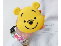 کیف سیلیکونی کوچک رودوشی طرح پو Pooh Little Bag