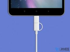 کابل کوتاه شارژ و انتقال داده دو سر شیائومی Xiaomi ZMI Micro USB And Type-C Cable AL511