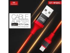کابل تایپ سی به اچ دی ام آی ارلدام Earldom Type-C to HDTV Cable ET-WS8C 2M