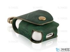 کاور محافظ چرمی ایرپاد اپل Keephone High Classic AirPods Case