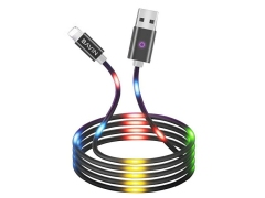 کابل لایتنینگ رقص نور باوین Bavin CB-139 Led Lightning Cable 1m