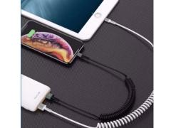 کابل شارژ و انتقال داده میکرو یو اس بی تلفنی Bavin CB-153 Micro USB Cable 1m