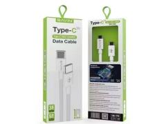 کابل شارژ سریع دو سر تایپ سی باوین Bavin CB-179 Type-C Cable 1m
