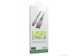 کابل شارژ و انتقال داده فلزی میکرو یو اس بی باوین Bavin CB-070 Micro USB Cable 1m