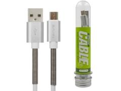 کابل شارژ و انتقال داده میکرو یو اس بی باوین Bavin CB-037 Micro USB Cable 1m