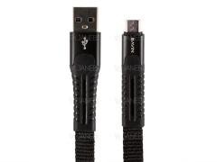 کابل شارژ وانتقال داده میکرو یو اس بی باوین Bavin CB-172m Micro USB Cable 1m