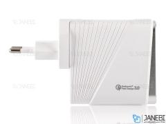 شارژر دیواری سریع 4 پورت باوین Bavin PC522Y Wall Charger