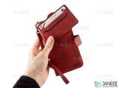 کیف چرمی آیفون JDK Bicolor Cover iPhone XS Max