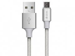 کابل شارژ و انتقال داده میکرو یو اس بی دویا Devia EC046 Micro USB Cable 1m