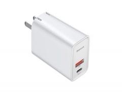 آداپتور سریع دو پورت 30 وات بیسوس Baseus Speed PPS Quick Charger USB+Type-C BS-EU905/BS-CH905