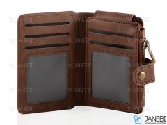 کیف نگهداری کارت اعتباری چرمی JDK Multifunctional Card Bag