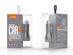 شارژر فندکی دو پورت سریع الدنیو با کابل تایپ سی LDNIO C407Q Type-C Car Charger