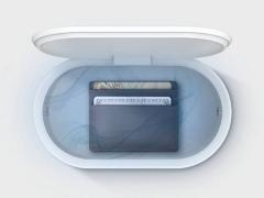 شارژر بی سیم سریع و ضدعفونی کننده لیفرو LYFRO Air Capsule Wireless Charging