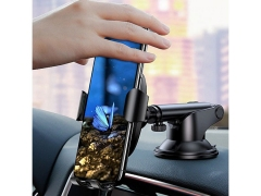 پایه نگهدارنده و شارژ بی سیم داخل خودرو بیسوس Baseus WXYL-A01 Osculum Wireless Gravity Car Charger