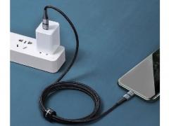 کابل شارژ سریع و انتقال داده تایپ سی به لایتنینگ بیسوس Baseus BMX Type-C PD To Lightning Cable 1.8m