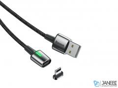 کابل آهنربایی لایتنینگ بیسوس Baseus Lightning Zinc Magnetic Cable 2m/1.5A