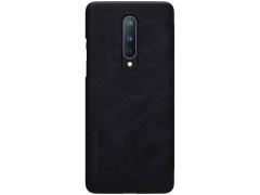 کیف چرمی نیلکین وان پلاس Nillkin Qin Leather Case OnePlus 8