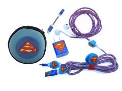 پک کیف و محافظ کابل شارژ آیفون سوپرمن Cover Charger Protector Super Man