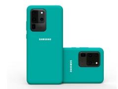 قاب محافظ سیلیکونی Samsung Galaxy S20 Ultra Silicone Case