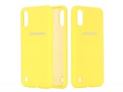 قاب محافظ سیلیکونی Samsung Galaxy A01 Silicone Case